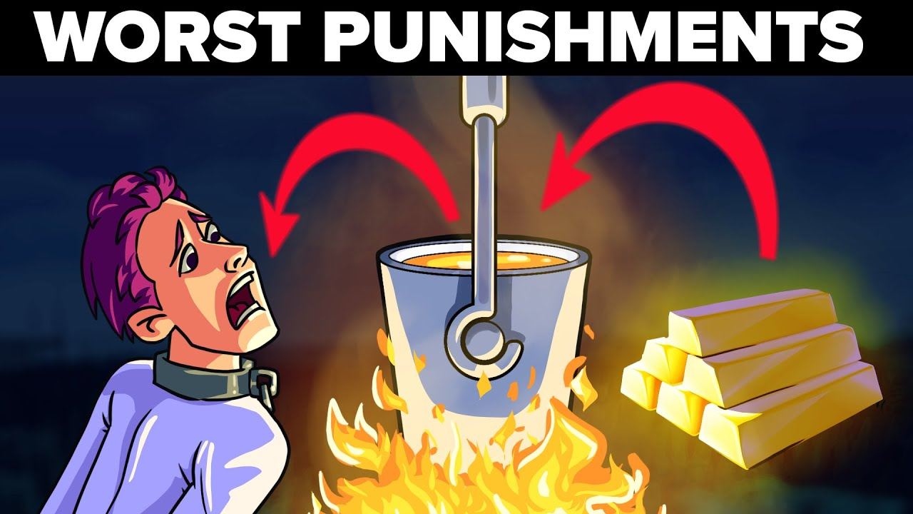 Forced to Eat Molten Gold - Worst Punishments in the History of Mankind
