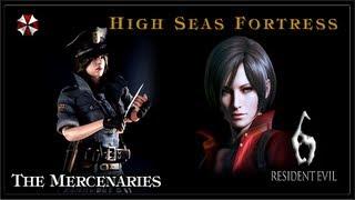 Resident Evil 6 PC Gameplay (Coop) - The Mercenaries - High Seas Fortress