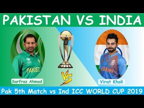 Ptv Sports Live Streaming  Pakistan vs India World Cup 2019 Match No 22 Live