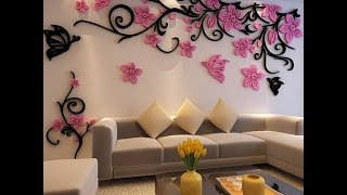Декоративная отделка стен своими руками. Просто, быстро, красиво! Фактурная шпаклевка.Brigada1.lv