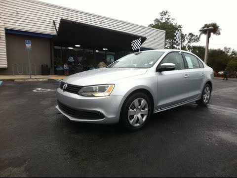 2012 Volkswagen Jetta Sedan SE PZEV at Autoline Preowned For Sale Used review Jacksonville