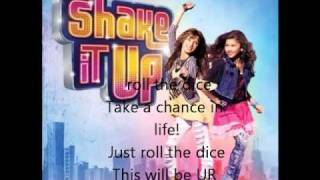 Shake it up-Roll the dice W/ Lyrics
