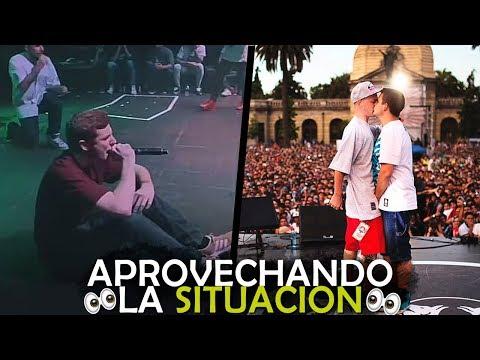 Download Youtube: APROVECHANDO LA SITUACIÓN... | Batalla De Gallos - Rap