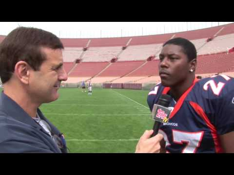Knowshon Moreno: Best Opera Singer in the NFL