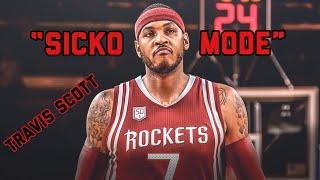 "Carmelo Anthony Mix - || ""SICKO MODE"" || ROCKETS HYPE"
