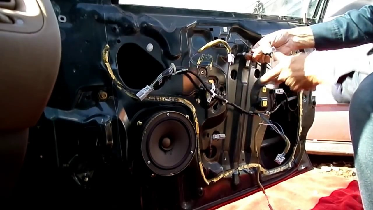 Honda Accord Window Regulator Motor Removal
