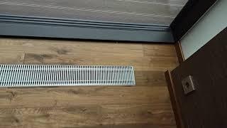 Воздушное отопление. Съемная решетка фирмы Артокс.