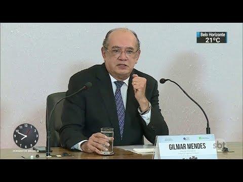 Gilmar Mendes manda soltar empresários acusados de corrupção no Rio | SBT Brasil (02/12/17)