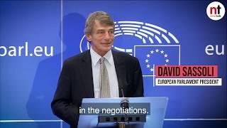 David Sassoli on Brexit