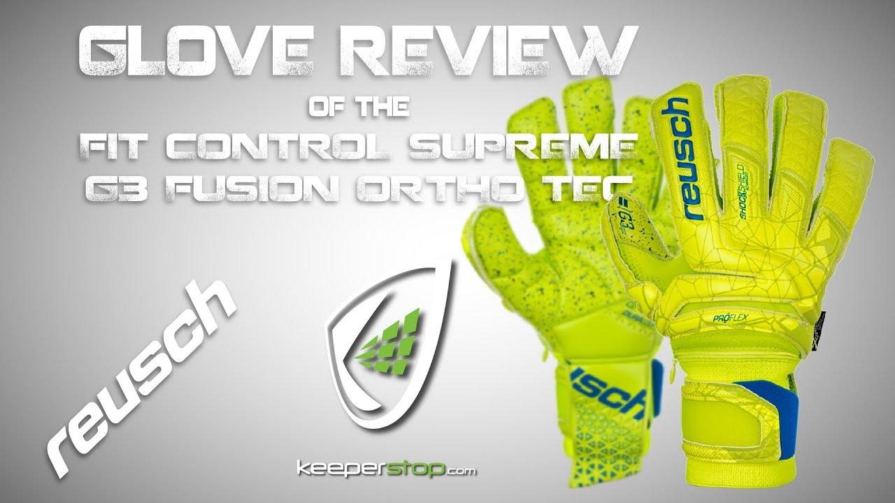 8f9de29b4 Reusch Goalkeeper Glove with Finger Protection | Keeperstop