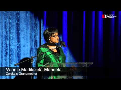Zoleka Mandela launches autobiography