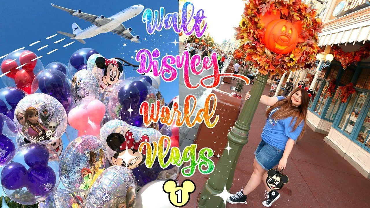 DISNEY WORLD VLOG EPISODE 1 | TRAVEL DAY & MAGIC KINGDOM ✈️ | SEPTEMBER 2019 | DISNEY IN DETAIL