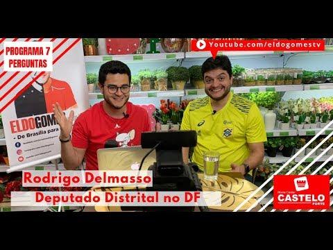 Programa 7 perguntas com: Rodrigo Delmasso, deputado de Brasília DF