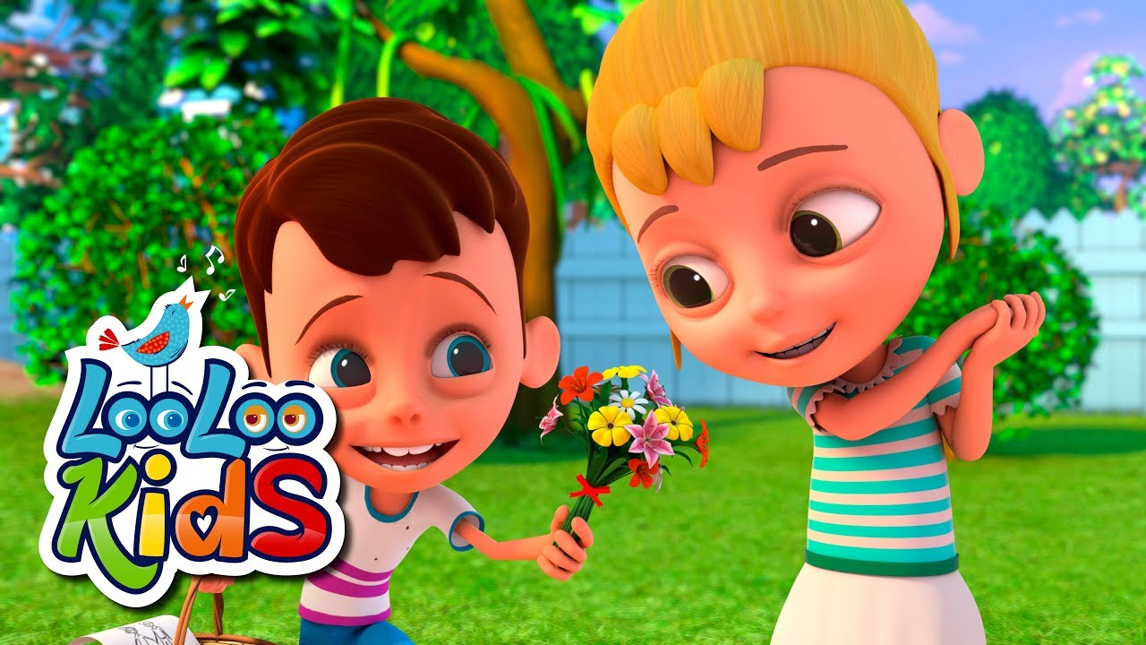 A-Tisket, A-Tasket - THE BEST Educational Songs for Children   LooLoo Kids