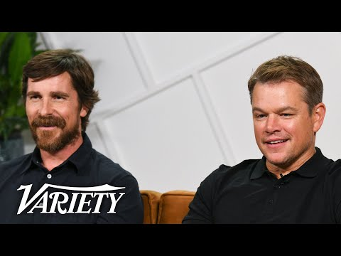 'Ford v Ferrari' Stars Christian Bale & Matt Damon on Shooting Intense Racing Scenes