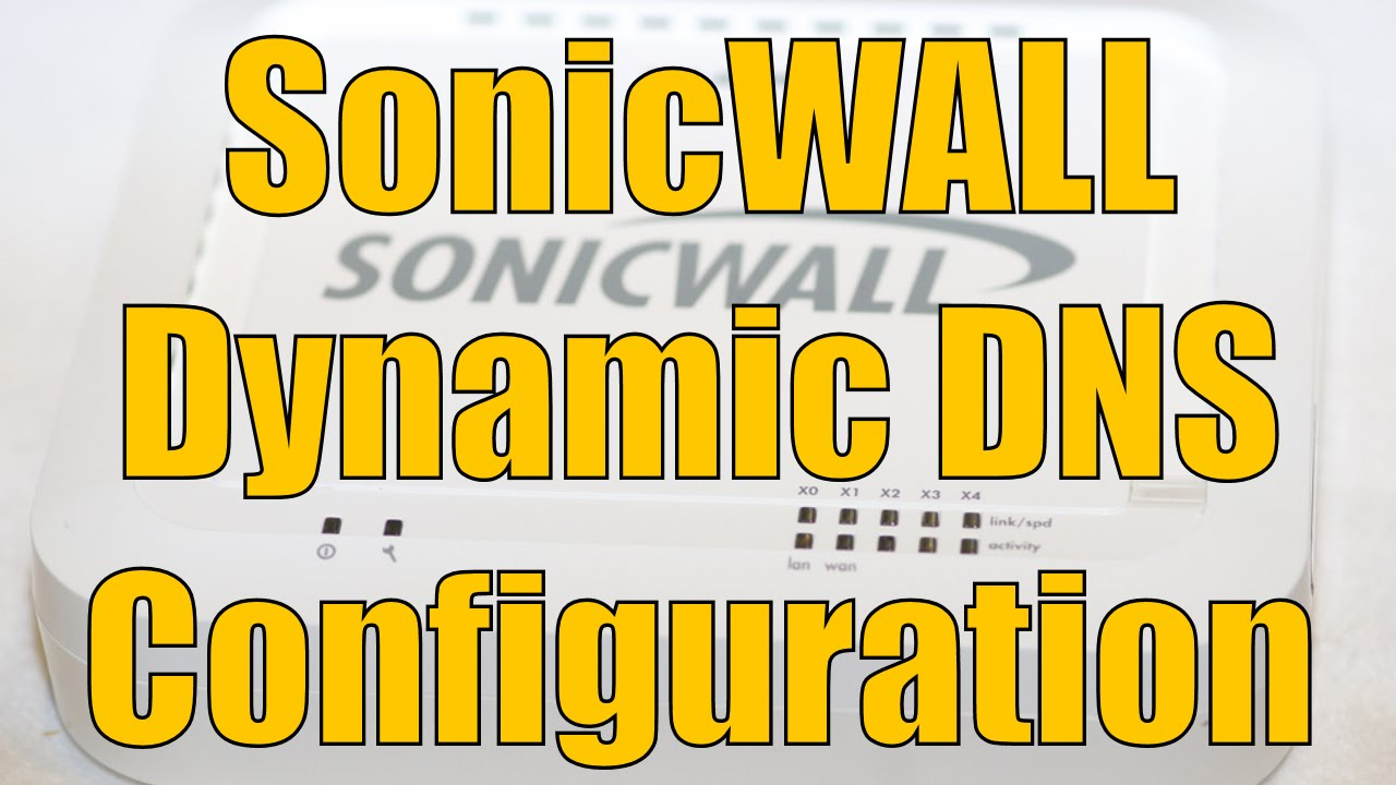 Sonicwall dynamic vpn