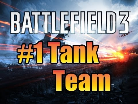 Battlefield 3's #1 Tank team! Conquest Nose Hair Canals.