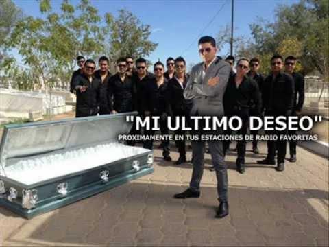 BANDA LOS RECODITOS - MI ULTIMO DESEO LYRICS