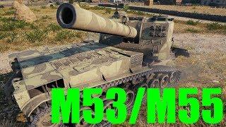 【WoT:M53/M55】ゆっくり実況でおくる戦車戦Part407 byアラモンド