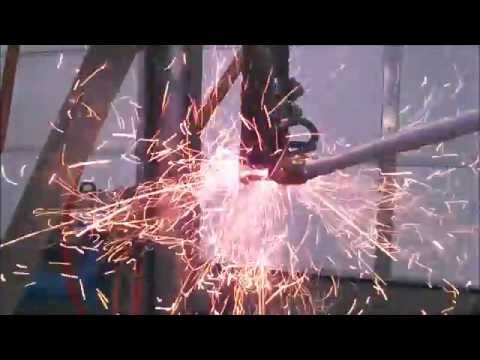 Down Draft Charcoal Gasifier Testing