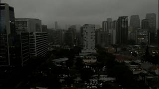 Sao Paulo Plunged Into Darkness by Smoke From Record Amount of Deforestation Amazon Fires