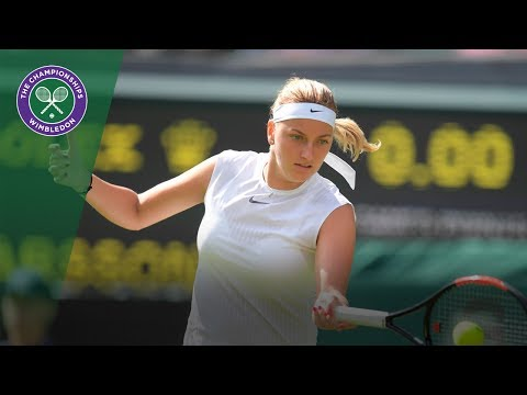 Petra Kvitova back on Centre Court at Wimbledon 2017