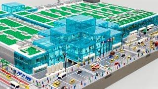 114,470ピースのタイムラプス!N.Y.のJavits Centerをレゴで作ると…