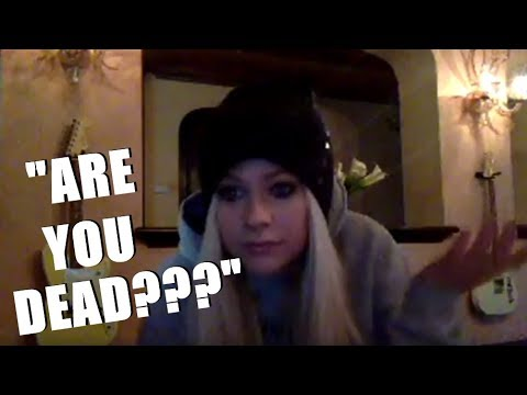 AVRIL LAVIGNE'S RESPONSE TO HER DEATH CONSPIRACIES