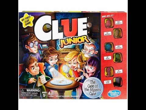 Clue Jr The Case Of The Missing Cake Youtube