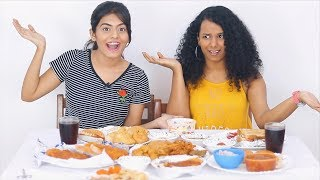 Indian Food Mukbang with Gautami From SlayyPoint | Dhwani Bhatt