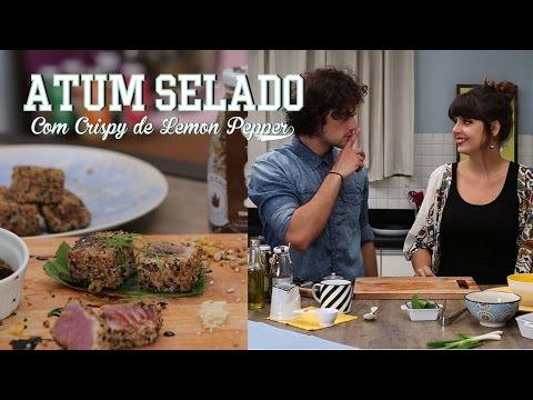 ATUM SELADO com Crispy Lemon Pepper ft. MOHAMAD | Receita #89 TORRADA TORRADA