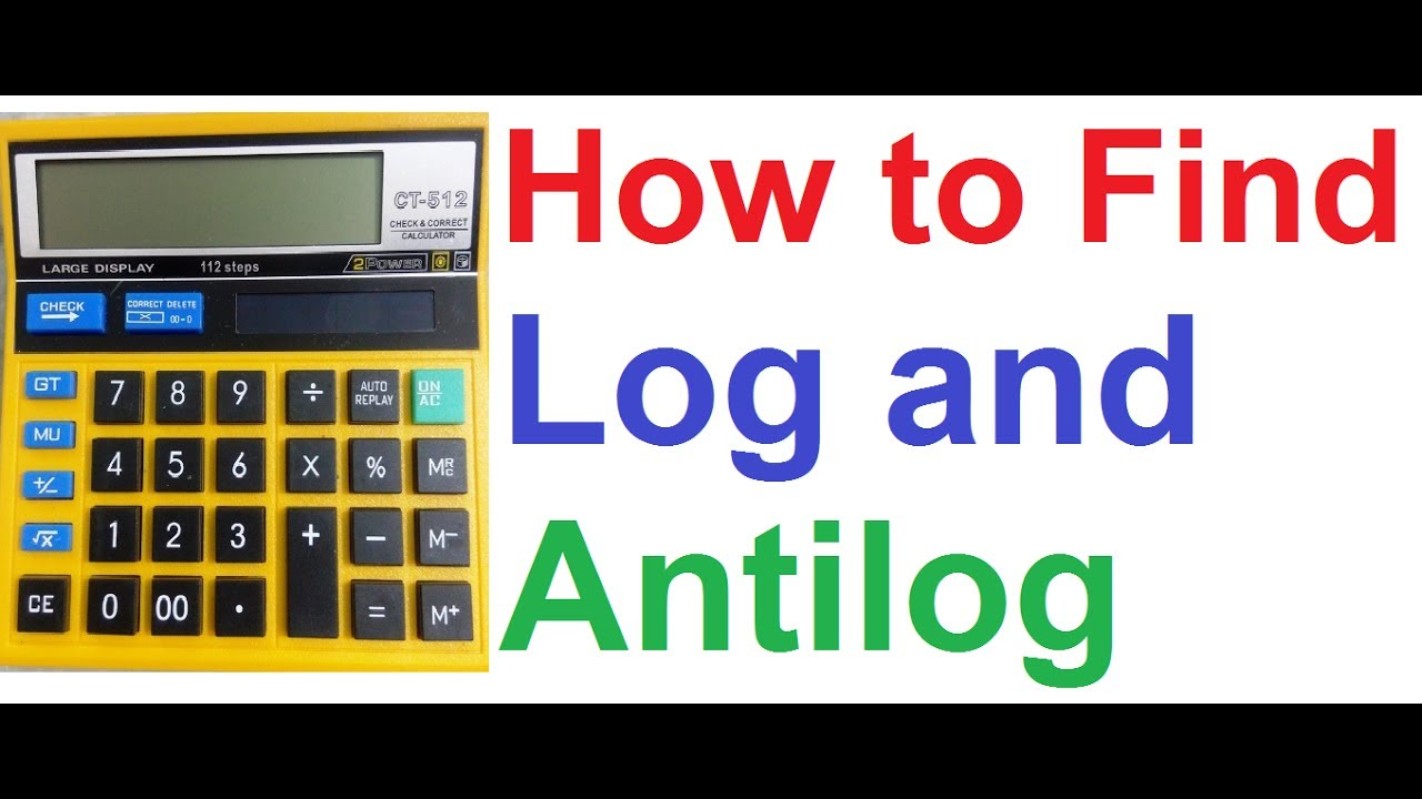 Log and antilog calculator for android apk download.