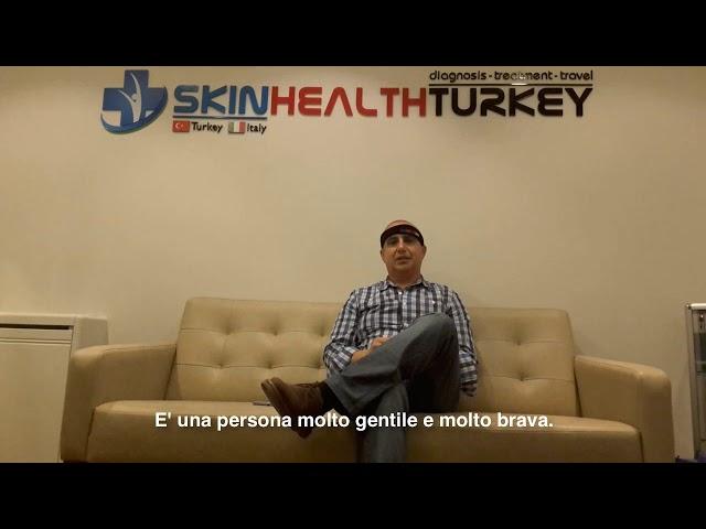 Trapianto Capelli Turchia - Testimonianza di Juan B. - Dott.ssa. Oyku CELEN / Skin Health Turkey