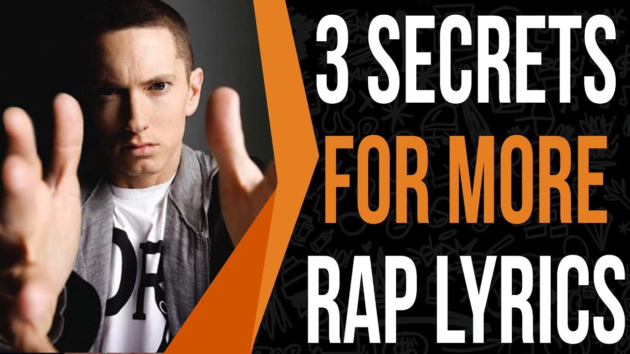 Write More Rap Lyrics Everyday Using These 3 Tricks Youtube