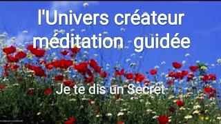 Imaginez que l'Univers s'adresse à vous et laissez-vous guider par le narrateur Jean de Mus