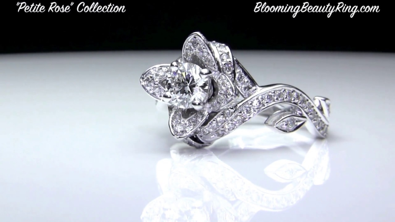 perfect rose engagement rings collection by bloomingbeautyringcom - Rose Wedding Ring