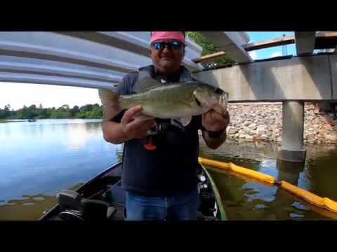 Oak Hollow Lake Fishing 6-25-2020