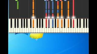 Me and mrs jones Billy Paul [Piano tutorial by Synthesia]