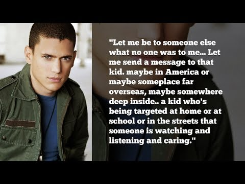 Gay Pride Video By Wentworth Miller Powerful Speech About Acceptance Being A Role Model To Kids