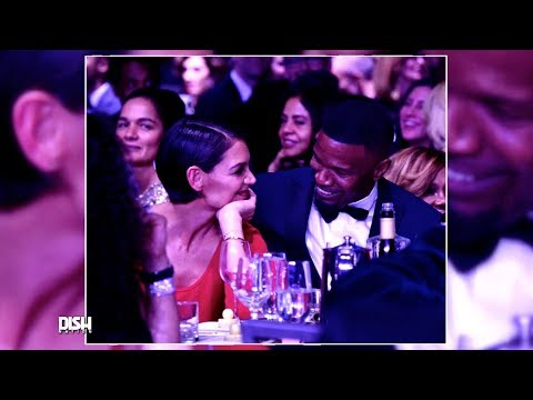 IS KATIE HOLMES ENGAGED TO JAMIE FOXX?
