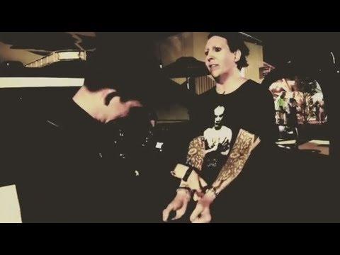 Marilyn Manson Handcuffed By Police | Rock Feed