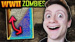 ULTIMATE ZOMBIES DEV TROLL: HIDDEN BACKWARDS MESSAGE DECODED IN NEW WW2 ZOMBIES STORYLINE INTEL!!