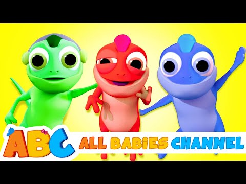 THE CLUMSY CHAMELEON 3D SONG | Nursery Rhymes For Kids By All Babies Channel