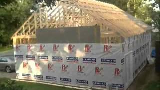 Garage Construction - Slab To Siding - 8x