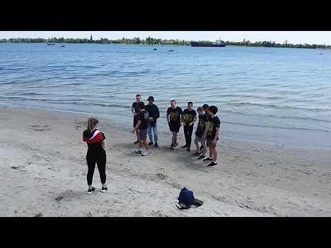 Субботник 16 мая. Остров, Лилея Херсон. Чистый берег.