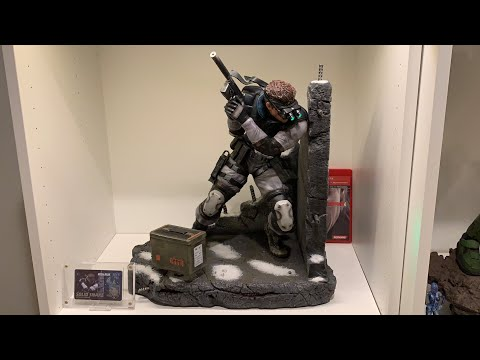 First4Figures MGS Solid Snake 1/4 Statue Unboxing and Review