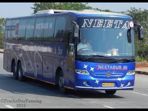 Neeta multiexcel Volvo Bus - YouTube