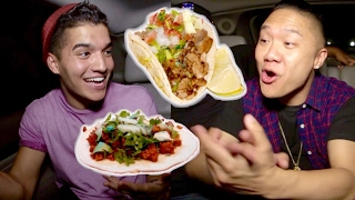 Who Has The Best Drunk Food? with Alex Wassabi