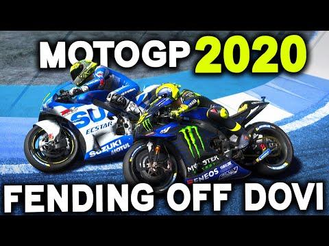 FENDING OFF DOVI! | MotoGP 2020 Career Mode Part 15 (MotoGP 2020 Game Mod)