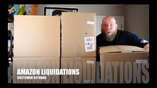 I Paid $176 for a $2,118 Amazon Customer Returns Pallet + 5 HUGE MYSTERY BOXES Full of Crazy Value!